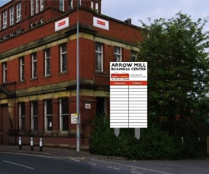 Arrow Mill Business Centre Signage