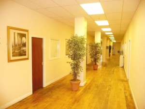 Open Corridor Space Arrow Mill Rochdale Office Space