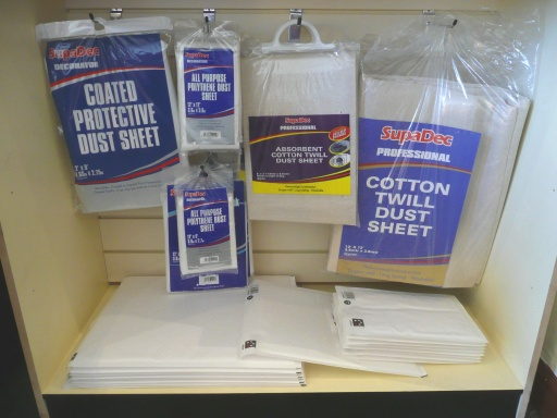 Dust Sheets Self storage packing materials