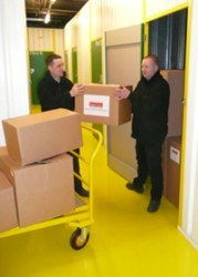 Boxes At Self Storage Units In Rochdale - Simple Storage