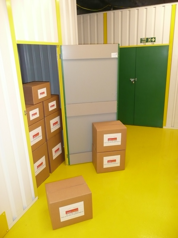 Self Storage Unit At Simple Storage Rochdale